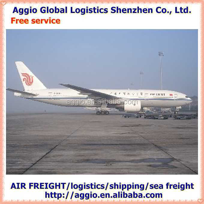 High quality air freight cargo services for plastic brush handle air logistics