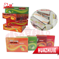 Factory supply fresh mints milk flavour sugas soft candy