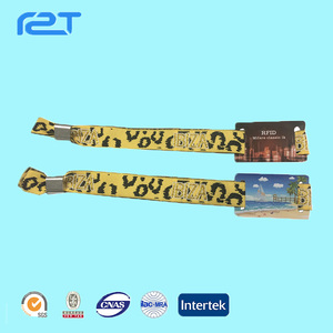 New arrival widely use quality-assured Festival Wristbands Of Rfid Access Control