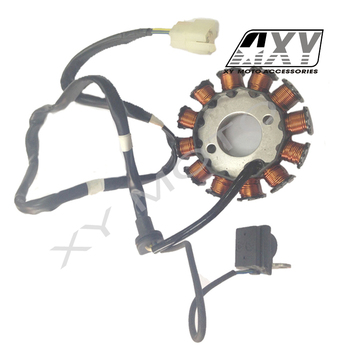 Motorcycle Generator Magneto Stator Coil Fizy 125cc Scooter Engine Parts -  Buy Stator Coil,Generator Magneto,Motorcycle Generator Magneto Product on