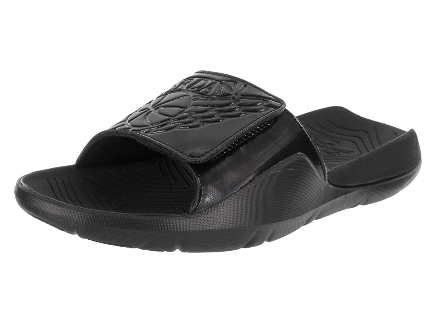 76d34541585ffe Get Quotations · Jordan AA2517-010  Hydro 7 Mens Black Retro Premium Slides  Sandals (13 D