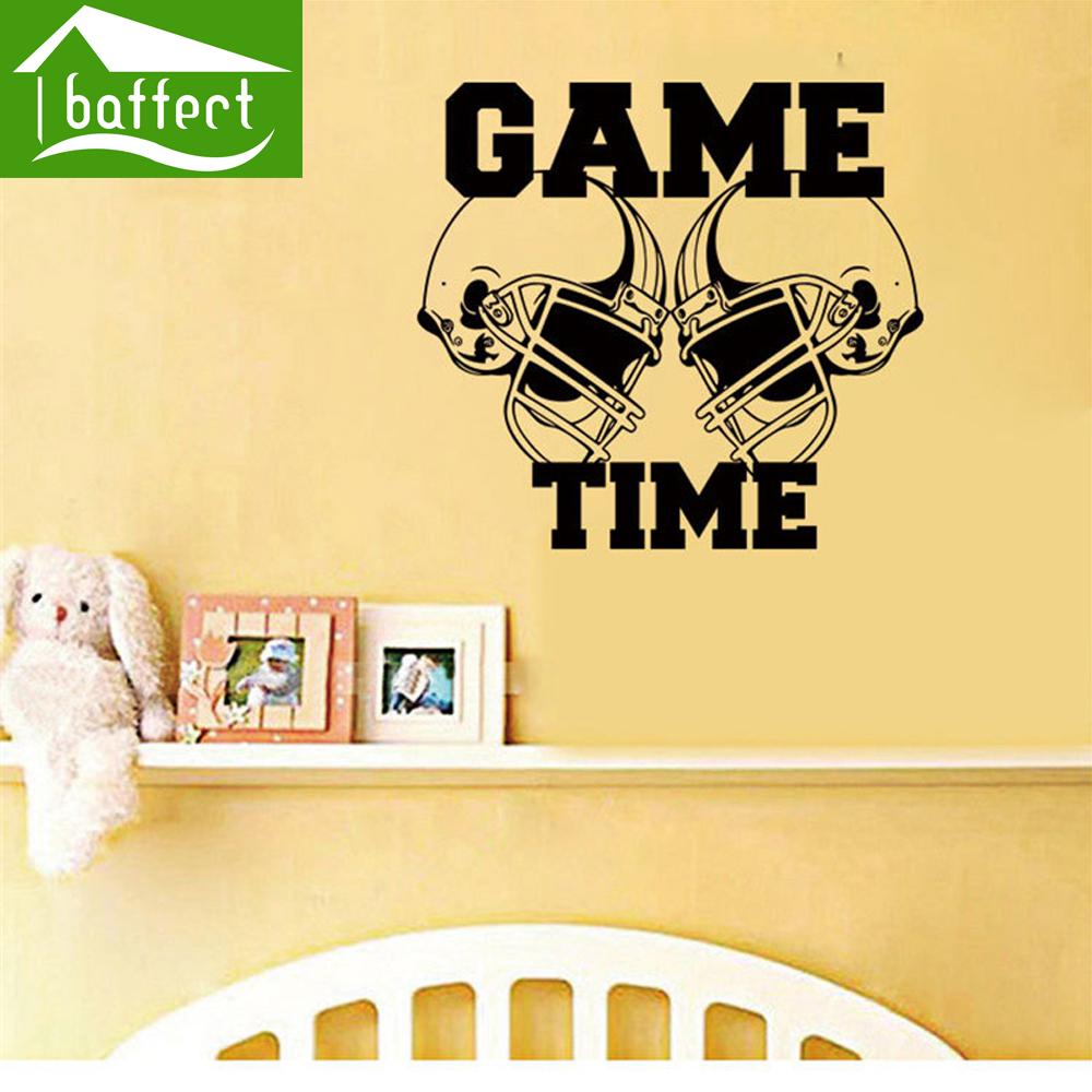 Sport wall art sticker Decals Vinyl Hockey Poster Game House Home Decoration For Children Kids Bedroom Dekor vinilos pared ws67