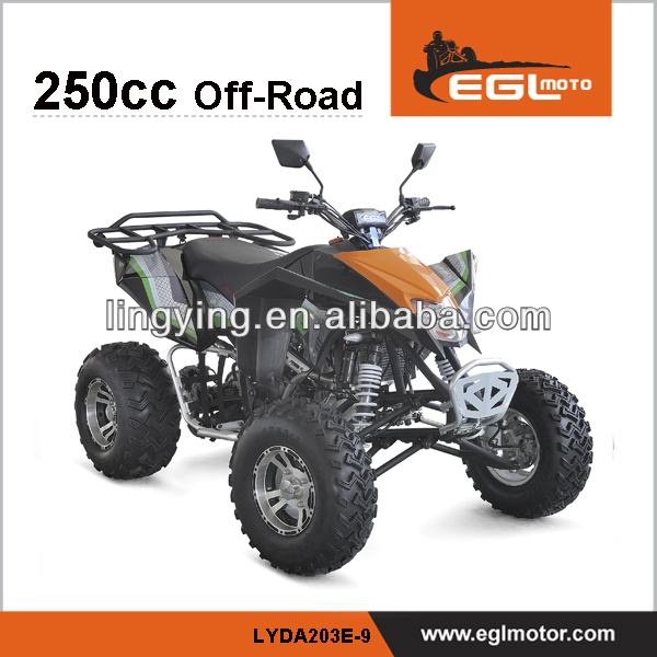 EEC approve 250cc 4 wheeler atv for adults