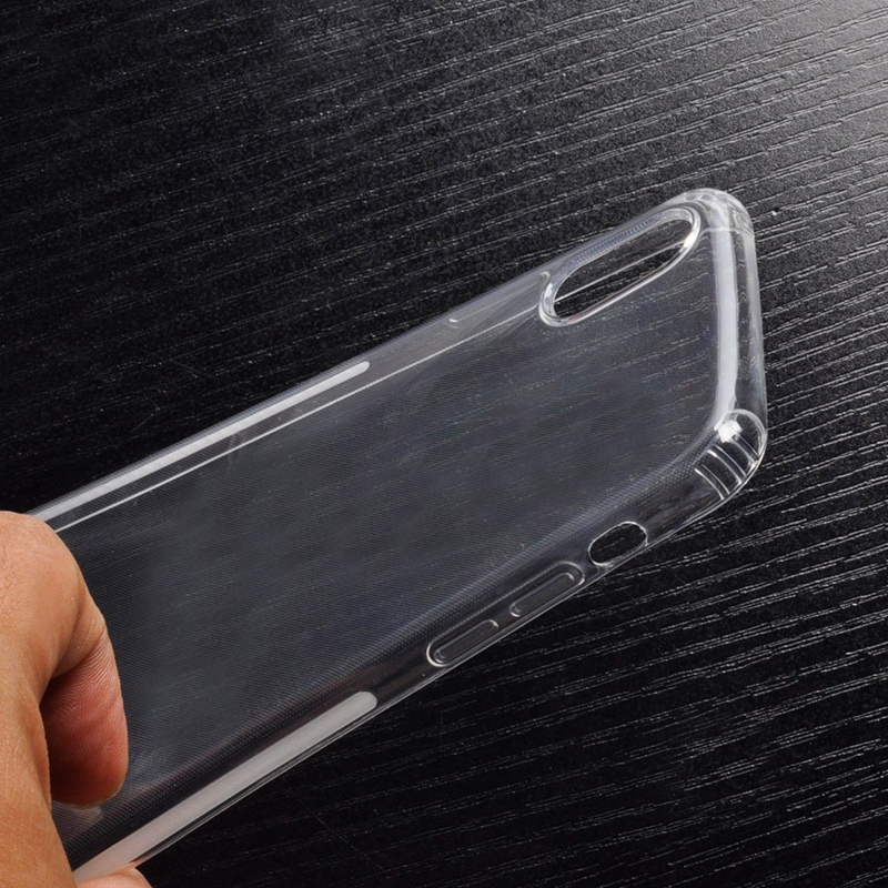 DFIFAN Reinforced Corners Protective Mobile Cases for iphone X , Slip-proof Clear Smooth Case for iphone X case new arrivals