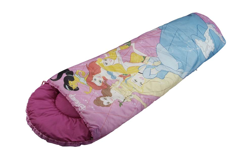 Mummy Style Sleeping Bag For Children Kids Cotton Air Conditioning Was A Cartoon
