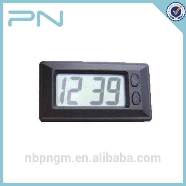 08909990b11 personalizado preto mini relógio digital para carro-Relógios de mesa ...