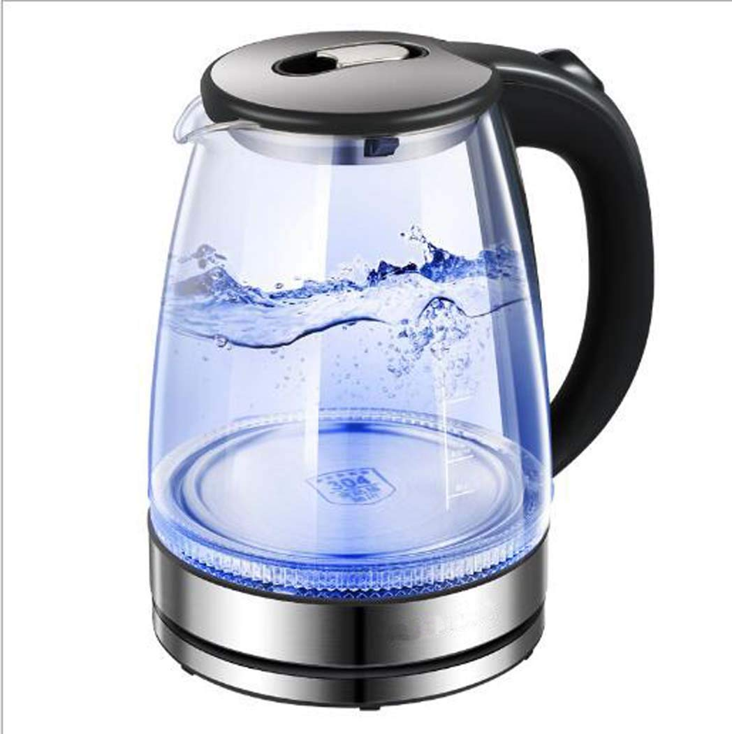 Kettle Electric 1500W High Power For Fast Heating,Electric Household Automatic Power Off 304 Glass