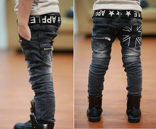 Hot spring spring and autumn childrens clothing boys baby jeans children trousers pants wholesale 4 13