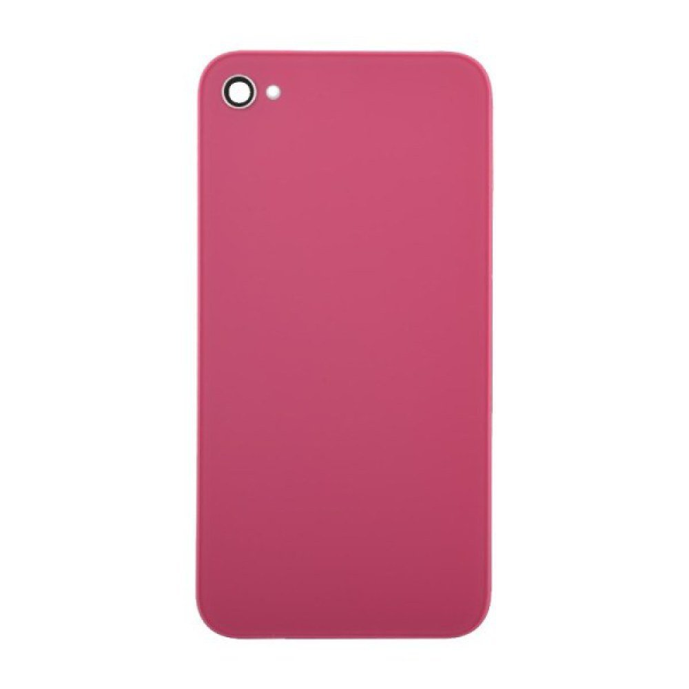 Door with Frame for Apple iPhone 4S (CDMA & GSM) (Pink) with Glue Card
