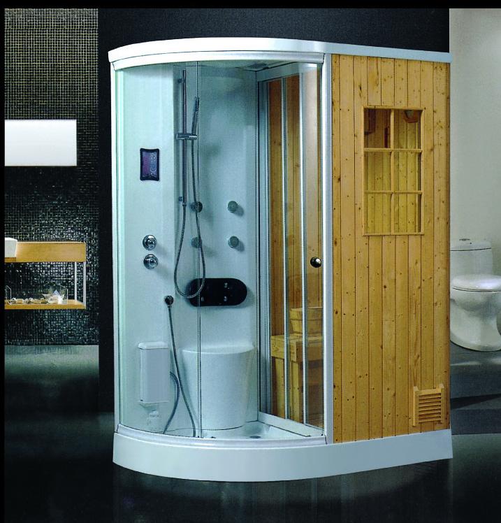 projeto o mais novo para casa seco u molhado sauna banho de sauna a vapor casa
