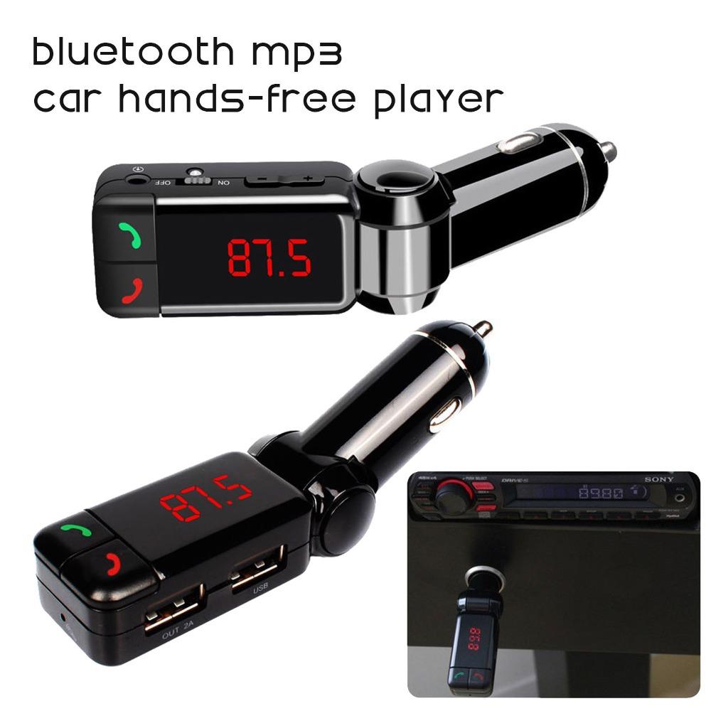 car mp3 audio player bluetooth fm transmitter wireless fm. Black Bedroom Furniture Sets. Home Design Ideas