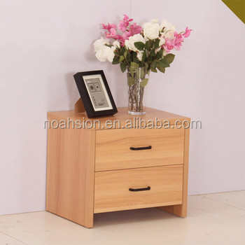 Simple Design Wooden Bed Side Table