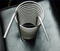 stainless steel immersion coil heat exchanger