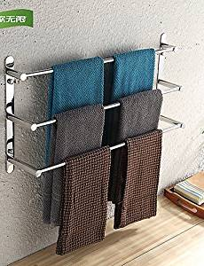 XP HOME Towel Bar / Stainless Steel / Wall Mounted /40*11.5*32cm(15.7*4.5*12.6inch) /Stainless Steel /Contemporary /40cm 32cm 0.9