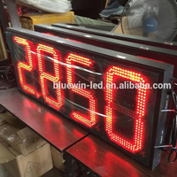 Gas stations names board service station sign board metal digital free standing price screen gas station pylon sign