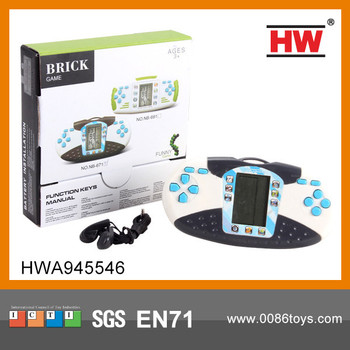 Interesting 99 In 1 Handheld Game Console With Headset Brick