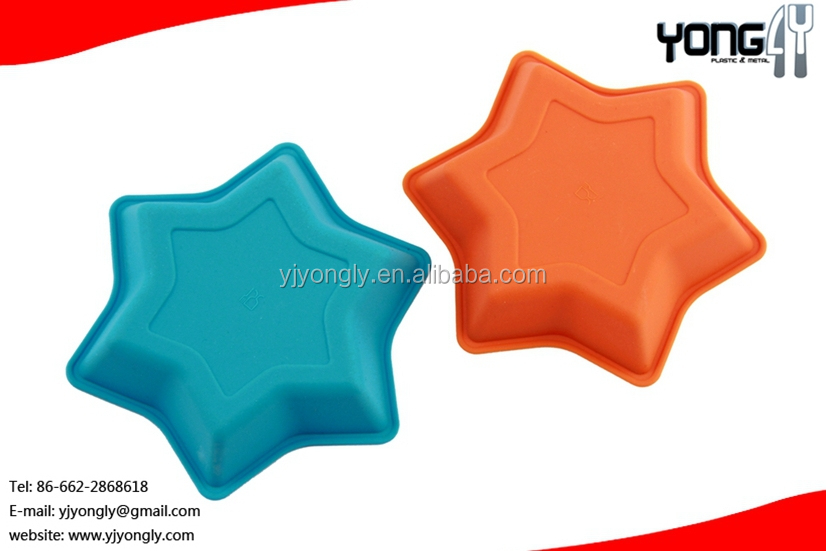 Mini star shapes silicone baking mould,cookie mould