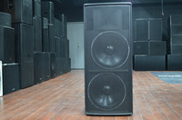 Professional sound system high quality real sound speakers dual 15