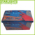 Wholesale PVC Faux Leather storage folding ottoman