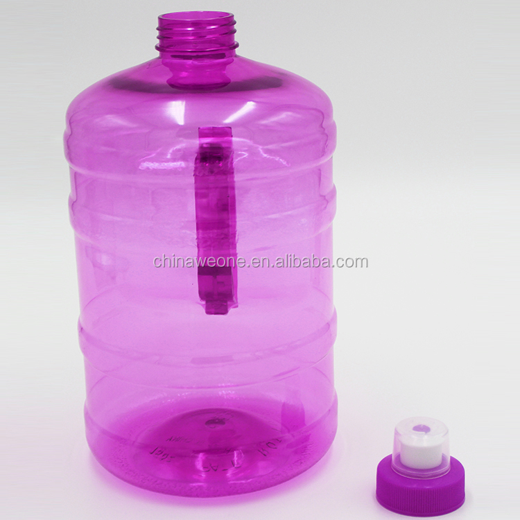 2.2L Tank Jug Container Hydrate Drinking Bottle by Weone Resin Fitness BPA Free Leakproof with Easy Carry Handle