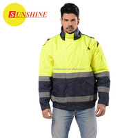 High Quality Adult Reflective Safety work jacket
