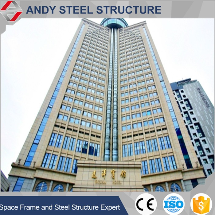 Prefabricated High Rise Steel Hotel Building