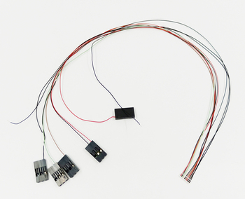 0.8 pitch JST-10 Pin 10SUR-32S to M20-1060300 wire harness