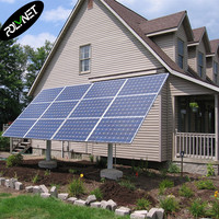 10kw hybrid solar system project price ups home use for energy saving from POLYNET
