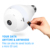 IP Camera Wifi Home Security 1.3MP Fisheye 360 Degree Panoramic P2P Phone Remote Bulb Light Wireless