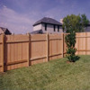 dog ear wood fence