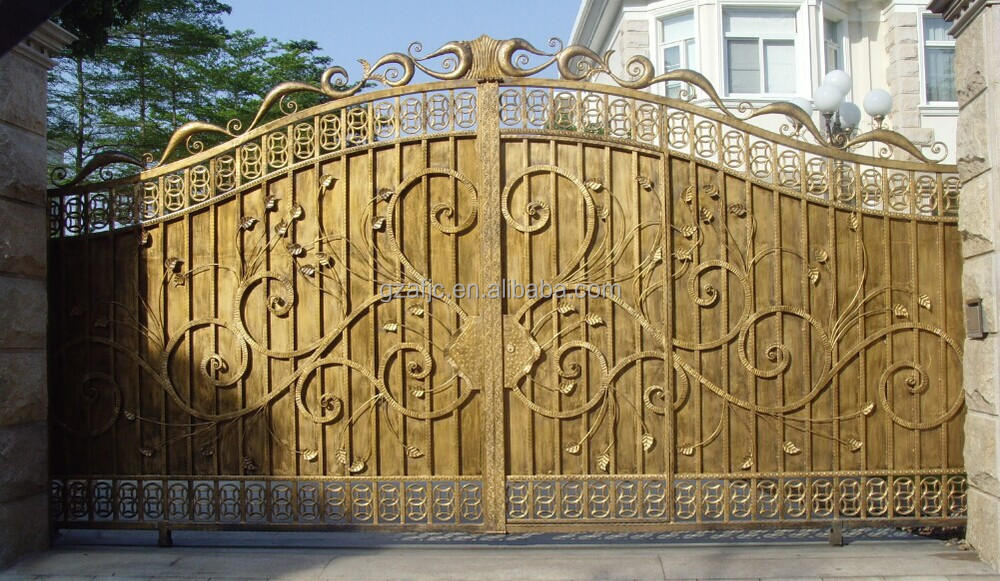 Iron Gate Beautiful Metal Fence Grill Gate Door Front