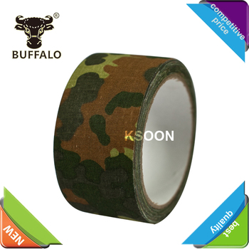 Waterproof Outdoor Printed Camo Camouflage Military Tape With Free Samples