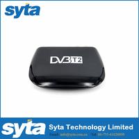 SYTA HD MINI digital home use tv box DVB-T2 for Russia,UK,Italy,Sweden,Singapore,Australia,Malaysia,etc Market