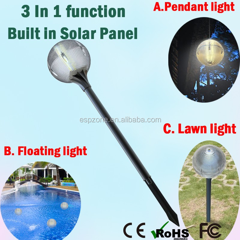 hot Waterproof Decorative Garden Solar LED Light Solar Panel Kit