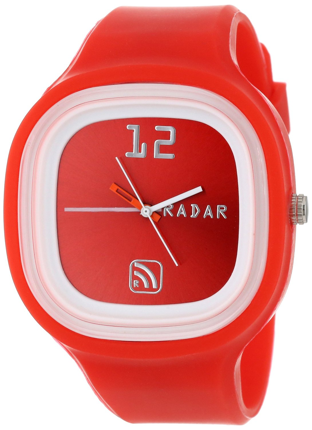 RADAR Watches Unisex AGRED-0009 The Agent Interchangeable Silicone Analog Watch
