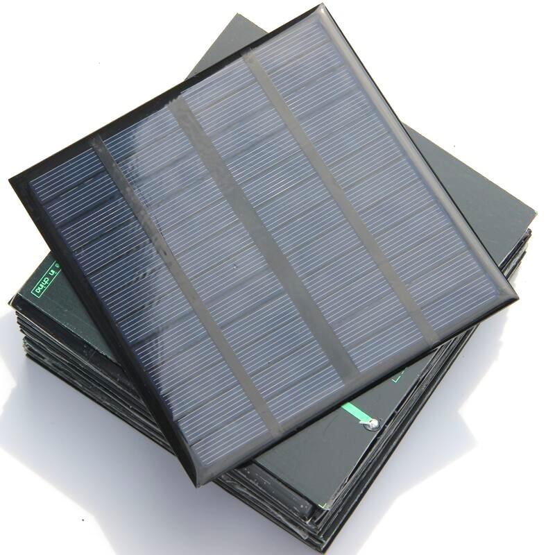 3w pequenos painéis solares aquecedores