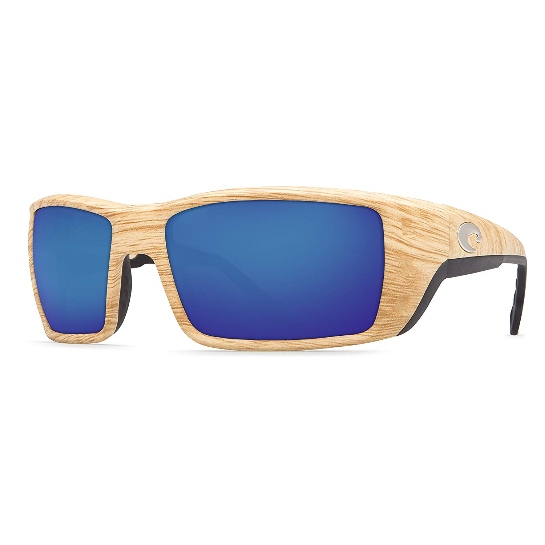 399ec54537 Get Quotations · Costa Del Mar Sunglasses - Permit- Glass   Frame  Ashwood  Lens  Polarized Blue