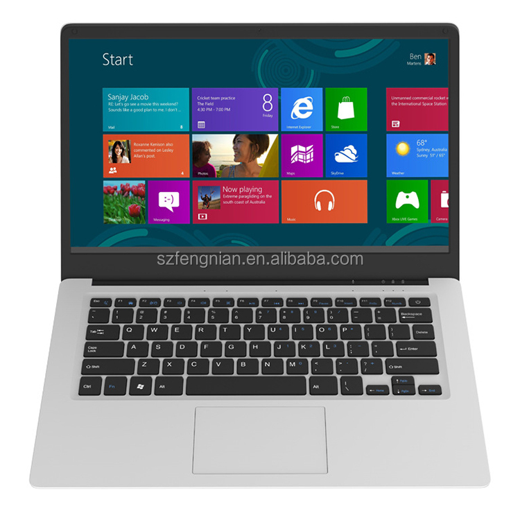 Factory direct supply cheap thin laptop 14.1 inch Z8350 4GB 64GB Win10 Computer Notebook PC