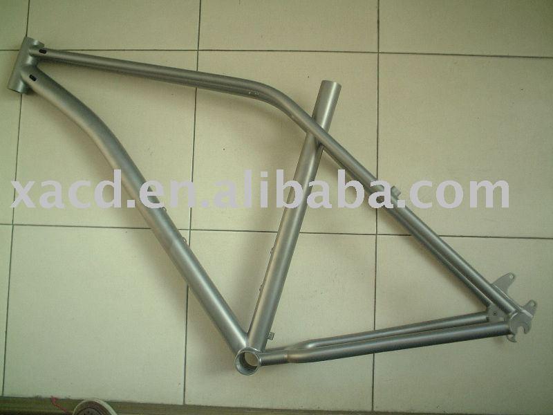 V freno de titanio marco de la bici de ciclocross cuadro de la ...