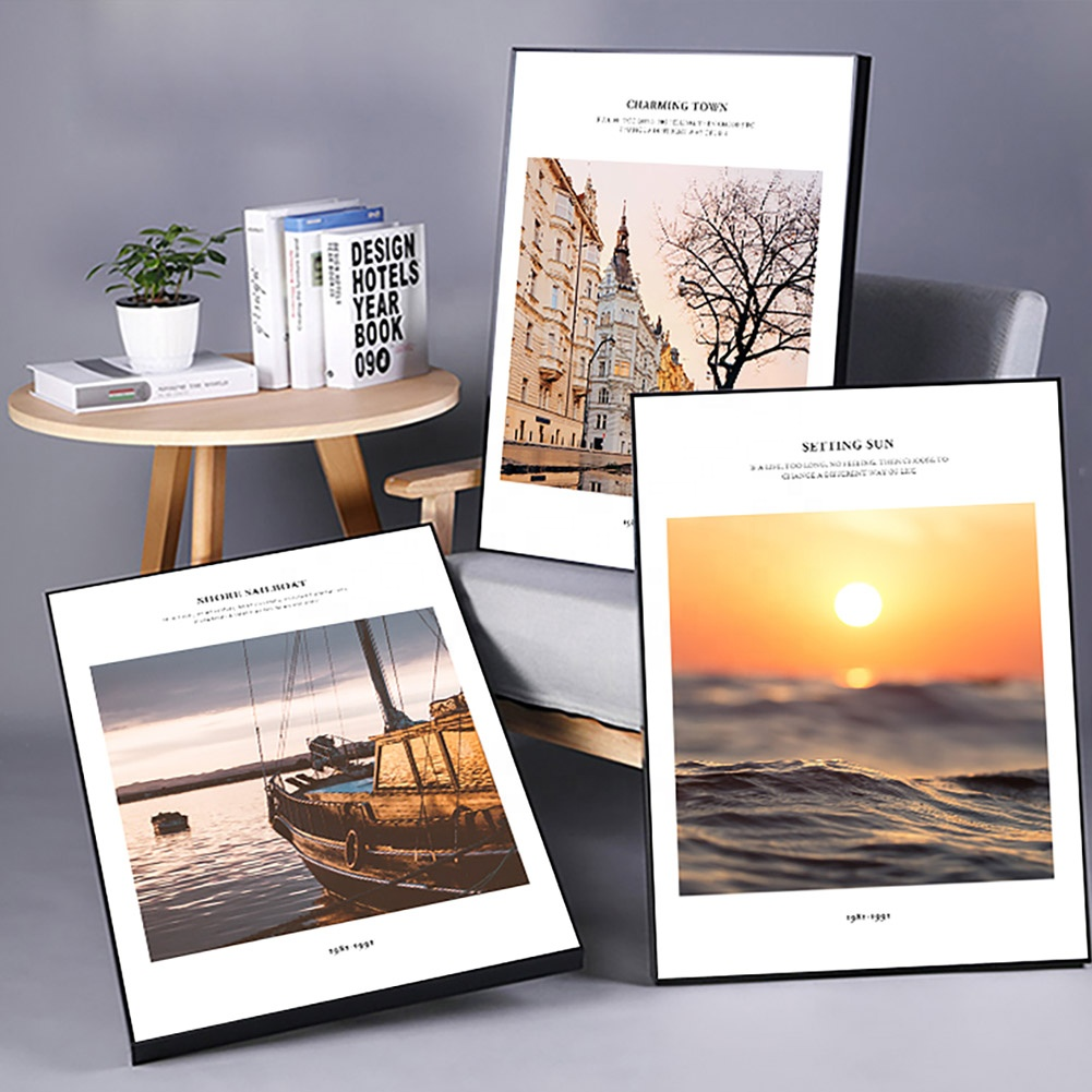 Modern 50*70cm Landscape Wall Art 3 pieces set with Giclee Print for Living Room Sofa Background Hallway Home Interior Decor