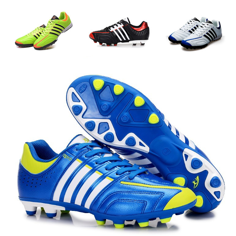 9a2a4db65 Get Quotations · Fast delivery durable 2015 New Men's Soccer Shoes Training Football  Boots indoor kids Boys Cleats Free