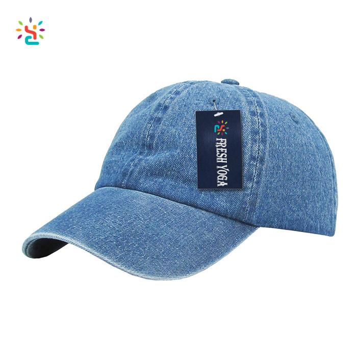 New Apparel custom dad hat plain color women men denim cap adjustable polo  style low profile 697a46ced54