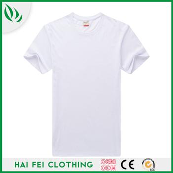 e1d97abd9 Manufacturer Custom Plain 95%Cotton 5%Spandex T Shirts In Bulk Wholesale T-