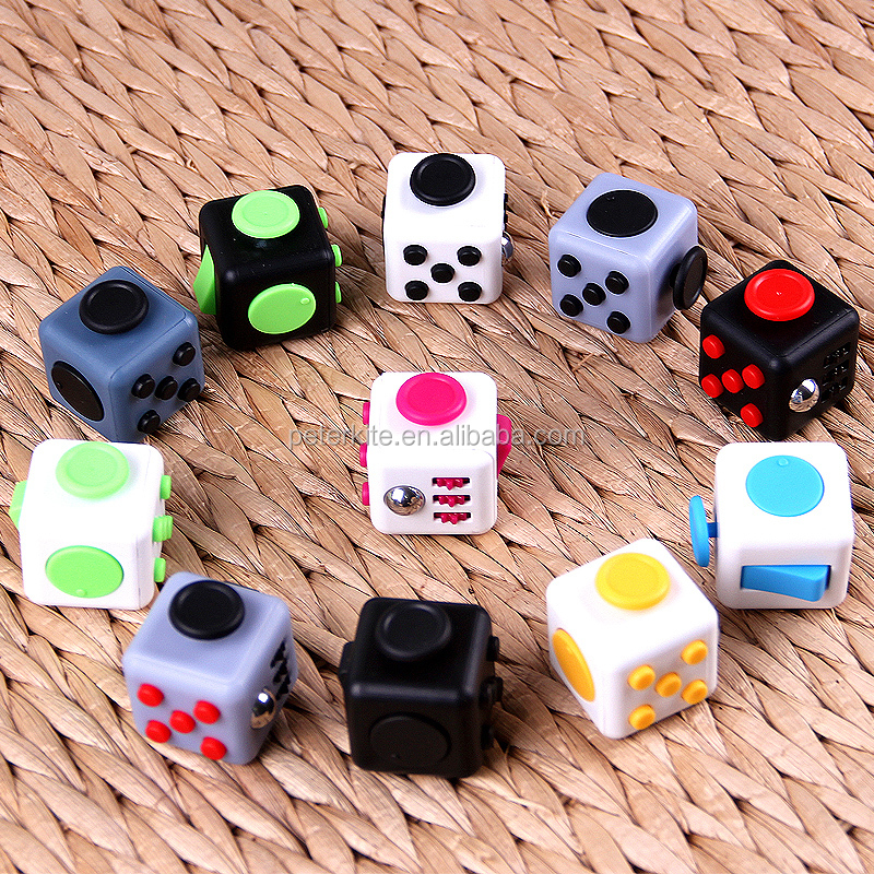 6 sides second generation fidget Toy fidget cube Relieves Stress And Anxiety for Children and Adults