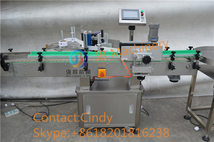 JB-YG4 Automatic glass bottled juice filling and capping machinery with 4 nozzles