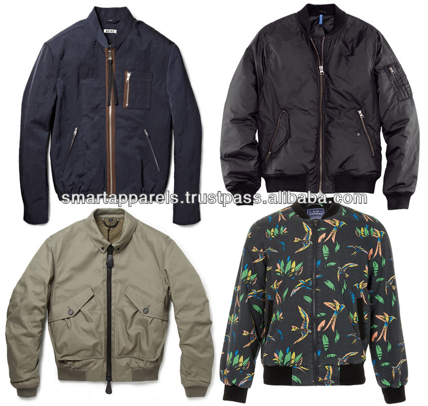 Different Styles Custom Bomber Jackets - Buy Custom Made Varsity