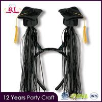 Graduation Souvenirs Headband With Mini Graduation Tassels