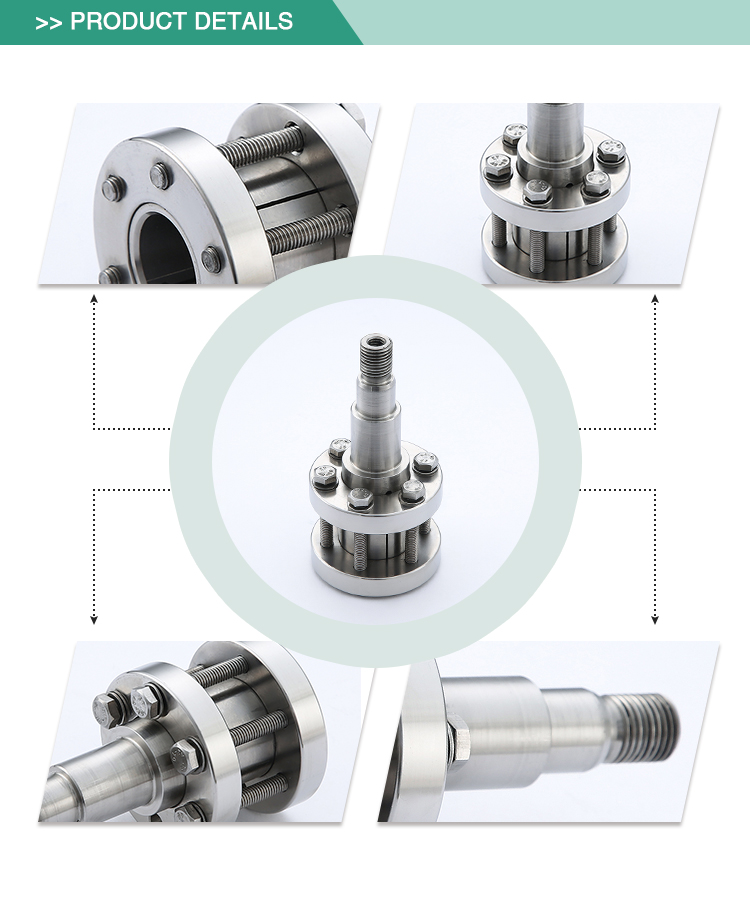 Efficient sanitary stainless steel centrifugal pump mechanical seal