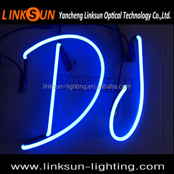 Custom Diy Neon Font Letters Signs - Buy Neon Tube Light,Neon Light  Letters,Lighting Letters Product on Alibaba com