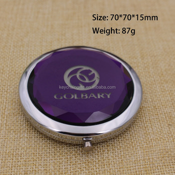 Compact Pocket Folding Makeup Cosmetic Magnifying Mirrors